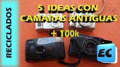 5 Ideas con cámaras de fotos antiguas + 100.000 Suscriptores
