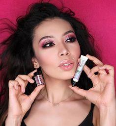 Весь макияж сделан на #NYXcosmeticsProducts  Учу девочек с @nyxstories_kz делать яркий макияж в стиле #nyxcosmetics , угадайте какой глазик красила я�� . Кстати вот этот праймер для глитера очень нравится в работе, рекомендую всем! . Makeup made using @nyxcosmetics  products, the glitter primer is my #1 love  _______________________________________ #визажист #визажисталматы #макияж #макияжалматы #бровисталматы #вечерниепрически #свадебныепрически #хнадлябровей #биотатуаж…