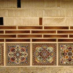Italian Renaissance Design Custom Backsplash Ceramic Tile Set | Etsy
