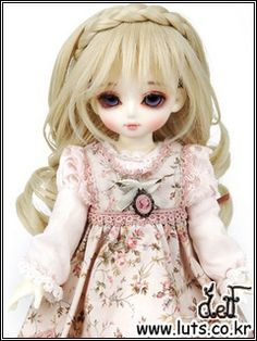 wig - LUTS - Ball Jointed Dolls (BJD) company :: Delf, Bluefairy, Blythe, Doll items like wig, clothes, shoes and Doll faceup materials