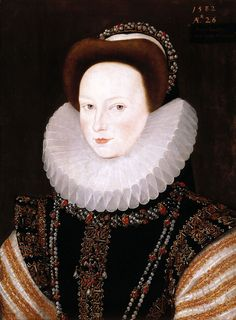 Anne Knollys Anne Knollys (granddaughter of Mary Boleyn, sister of Anne), Robert Peake, 1582 Mother of John West, Governor of Virginia Renaissance Mode, Renaissance Fashion, Renaissance Jewelry, Elizabethan Fashion, Elizabethan Era, Mary Boleyn, Anne Boleyn, Historical Costume, Historical Clothing