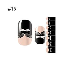 1 Set Spruce Popular 3D Nails Art Stickers Polish Tools Waterproof Decals HeatResistant Wraps Color Style19 *** Details can be found by clicking on the image.