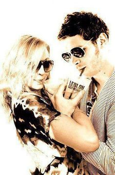 Candice Accola & Joseph Morgan.