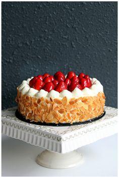Matcha strawberry shortcake.
