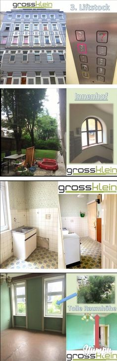 1030 Kleine aber feine sanierungswürdige Wohnung im dritten Liftstock eines… Condominium, Indoor Courtyard, House