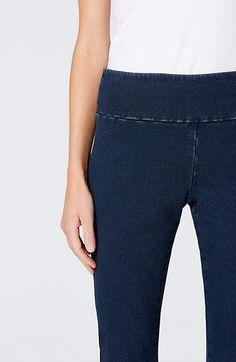 Image for Pure Jill Indigo Knit Leggings                                                                                                   from JJill
