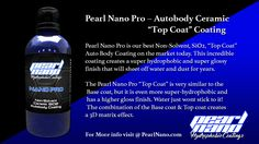 Pearl Nano Super Hydrophobic - Super Slick surface is also easier to clean and does not need to be waxed again. http://pearlnano.com/