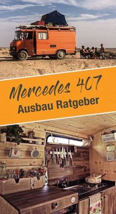 Mercedes 407d - Wohnmobil Ausbau