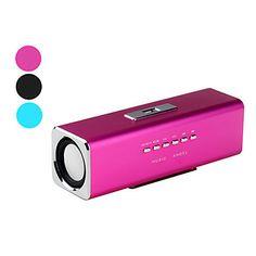Müzik Melek Hoparlör (SD, USB, FM, Çeşitli Renklerde) – USD $ 15.99