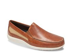 3a64d2ae6 Men Aiden Loafer -Cognac Leather Slip Ons