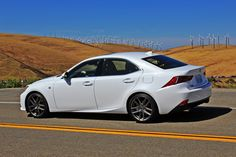 Oh Lexus, you had us at 'longer wheelbase'! The 2015 Lexus IS 350 F SPORT stands out in the luxury compact sedan market as. Lexus Lc, Lexus Cars, Lexus Sport, Jdm Cars, White Lexus, Lexus Is300, Car Goals, Car Photos, Custom Bikes