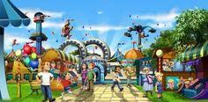 Nervenkitzel im Browser: Upjers kündigt My Fantastic Park an