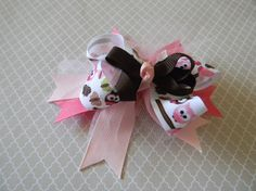 Owl in a tree by camlisa on Etsy, $3.25