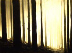 """Saatchi Online Artist: Stewart Forrest, Norway; Oil, 2011, Painting """"Visitors 2"""""""