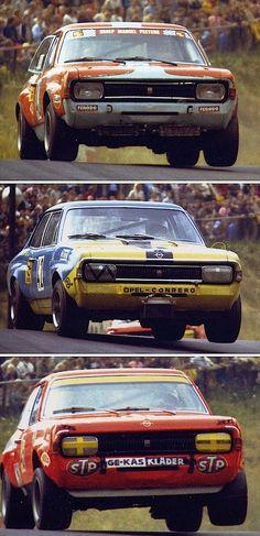 """Opel Commodores at """"Breidscheid"""" 1972"""