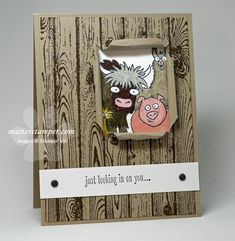 Not Your Every Day Get Well Card | Stampin' Up! Demonstrator Ann M. Clemmer & Stamper Dog Card Ideas.  (Pin#1: Get Well...  Pin+: Hello...).