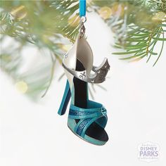 Browse new Disney products including apparel, toys, home decor & more. The latest designs and styles from Disney, Marvel and Star Wars. Disney Shoe Ornaments, Disney Christmas Ornaments, Christmas 2016, Christmas Decorations, Christmas Tree, Disney Heels, Disney Princess Shoes, Princess Aurora, Disney Parks