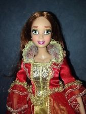 Disney Store Exclusice Princess Doll Belle Masquerade Extremely Rare!