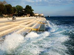"This ""Sea-Organ"" In Croatia Uses Waves To Make Hauntingly Beautiful Music"
