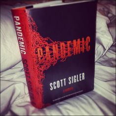 The first hardcover copy of my next book PANDEMIC, final book in the INFECTED trilogy. It's out Jan. 21, 2014. Pre-orders show we authors much love! http://www.amazon.com/Pandemic-Novel-Infected-Scott-Sigler/dp/0307408973