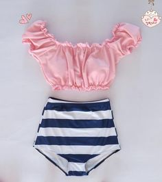 Sexy High waist Bikni-Tops-SheSimplyShops
