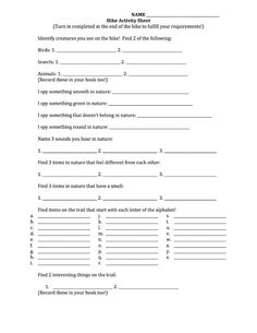 Worksheets Cub Scout Worksheets scouts english and cub on pinterest what 5 teach me scout hike activity worksheet