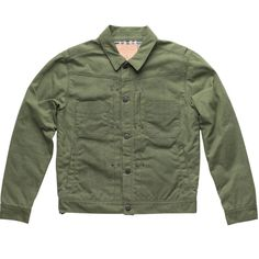 Waxed Riders Jacket - Olive | $400 by Freenote Cloth #menswear #outerwear