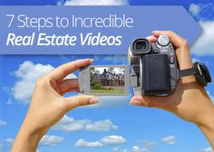 Here are 7 simple ideas for creating incredible #realestate #videos that will help get your next #listing off the #market even faster!