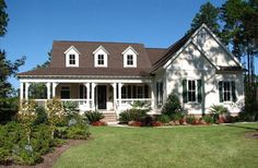 Southern Beauty with Wraparound Porch and Upstairs Space - 25629GE   Architectural Designs - House Plans