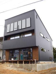 Tiny House Design, Townhouse, Facade, Architecture Design, Exterior, Outdoor Decor, Room, Label, House Ideas