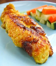 Sweet 'n Spicy Fish... Sub the vegetable oil for a healthy oil like coconut oil to make this recipe truly healthy