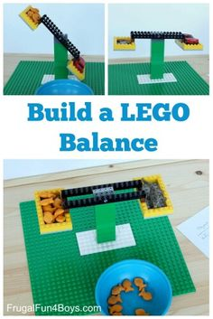 Build a Lego Balance - This is such a fun Lego activities for kids to help them learn while having fun with this STEM activities for kids Kindergarten grade grade grade grade grade homeschool math math activities Lego Duplo, Lego Math, Math Math, Fun Math, Lego Craft, Lego Games, Lego Minecraft, Math Games, Math Stem