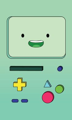 wallpaper for IPhone of BMO from Adventure Time♥ BMO IPhone Wallpaper Iphone 7 Wallpapers, Cartoon Wallpaper Iphone, Kawaii Wallpaper, Cute Wallpaper Backgrounds, Cute Cartoon Wallpapers, Disney Wallpaper, Cool Wallpaper, Cute Wallpapers For Mobile, Iphone Cartoon
