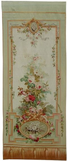 Beautiful Ambience French Aubusson tapestry