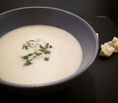 6 portions; 10 min preparation; 40 min cooking time. I was planning to make a delicious cream soup and when I saw in the supermarket those gorgeous fresh cauliflower, I couldn't resist. So to…