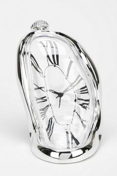 Melting Tabletop Clock #urbanoutfitters