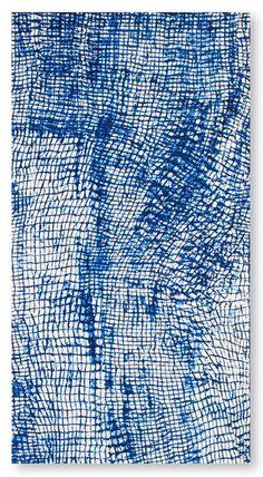 Shibori Mais (soak fabric in paint and stamp) Design Textile, Textile Patterns, Textile Art, Fabric Design, Design Design, Fabric Painting, Fabric Art, Painting Wallpaper, Arte Cello