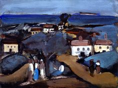 Georges Rouault, Landscape in Brittany  on ArtStack #georges-rouault #art