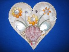 shell heart for Gina
