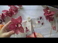 Buttercream Flowers, Fondant Flowers, Paper Flowers, Polymer Clay Mermaid, Polymer Clay Flowers, Sugar Paste Flowers, Polymer Clay Creations, Biscuit, Cold Porcelain