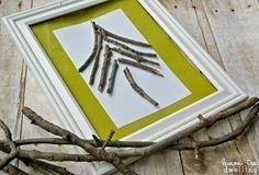 Broken Twig Tree - simple DIY Christmas decor!