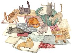Les Chats-Pachas by Solenn Larnicol