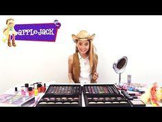 Applejack - Tutorial de Maquillaje - Equestria Girls (Español)