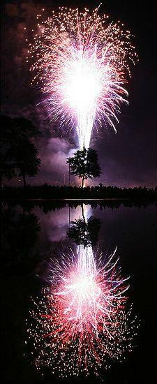 Fireworks..