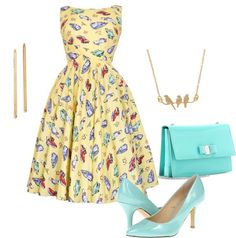 """50's"" by vaniavalle on Polyvore"