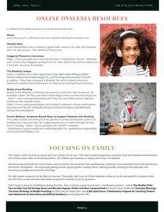 DI Quarterly Newsletter Dyscalculia, Phonemic Awareness, Learning Disabilities, Dyslexia, Math Resources, Revolution, Education, Health, Math