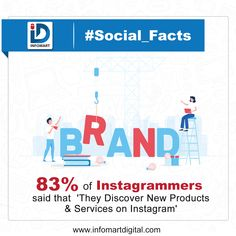 Study reveals that by simply being on Instagram, Brands can make a positive impression on potential shoppers. Hence Instagram can be a good platform to Showcase your product to your target audience  Talk to us to Promote your Brand on Instagram 📞 +91 80809 20709  #InfomartDigital #Instagram #Insta #SocialMediaPlatforms #ShowcasingProduct #Branding #OnlinePromotion #Shoppers #InstaPromotion #OrganicTraffic #PPC #Mumbai #Santacruz #NaviMumbai Building Companies, Brand Building, Target Audience, Mumbai, Promotion, Singing, Platform, Branding, Study