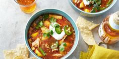 This hearty soup is a Mexican-inspired favorite, made easy. (Minus the chicken!)