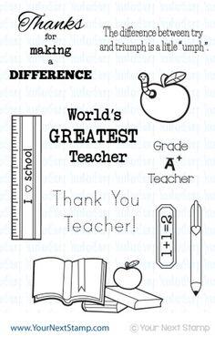 A+ Teacher - Your Next Stamp