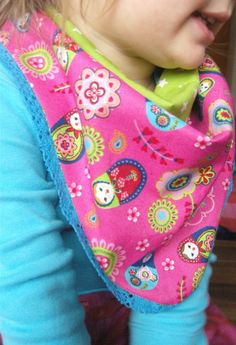 colourful scarf for little girls